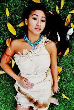 Pocahontas Costume by MaeLodaBride on Etsy, $75.00