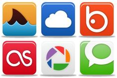 Pretty Social Media Icons - Artwork by Custom Icon Design Social Network Icons, Social Media Icons, Custom Icons, Icon Set, Icon Design, Reading, Google, Pretty, Artwork