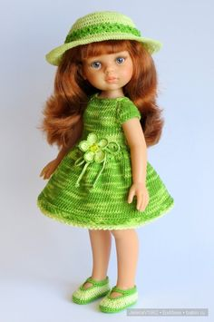 С Международным женским днём - 8 Марта! Игровые куклы Paola Reina. / Paola Reina, Antonio Juan и другие испанские куклы / Бэйбики. Куклы фото. Одежда для кукол Knitting Dolls Clothes, Crochet Doll Clothes, Knitted Dolls, Crochet Dolls, Cute Crochet, Beautiful Crochet, Girl Dolls, Barbie Dolls, Baby Barbie
