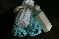 Nubbie Scrubbies This pattern makes a nice, thick, textured dishcloth or washcloth that is perfect for gift giving.