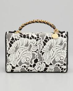 8f6ebd3c9aab Grace Lace Clutch by Stella McCartney at Bergdorf Goodman. Stella Mccartney  Bag