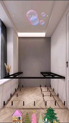 Small Room Design Bedroom, Small House Interior Design, Small Apartment Design, Bedroom Furniture Design, Home Room Design, Bedroom Decor, Home Entrance Decor, Dressing Room Design, Bedroom Layouts