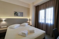 Athens Comfort 23 Liosion, Αθήνα  Junior Σουίτα Athens, Curtains, Bed, Furniture, Home Decor, Insulated Curtains, Homemade Home Decor, Blinds, Stream Bed
