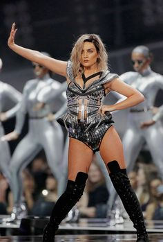 """littelmix: """" February 22nd - Perrie Edwards performs at the 2017 Brit Awards """""""