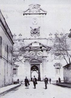 Porta Pia Anno: 1869 Bella Roma, Roman History, Roman Empire, Old Photos, Black And White, Antiques, World, Places, Travel