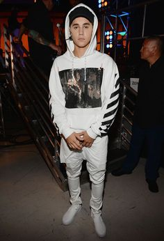 Damn, Justin, Back At It Again With The White Vans