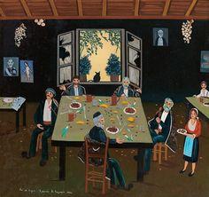 Καγκαράς Χρήστος-Απ'το χωριό, 1982 Greece, New Homes, Wrestling, Painters, Windows, House, New Home Essentials, Haus, Homes