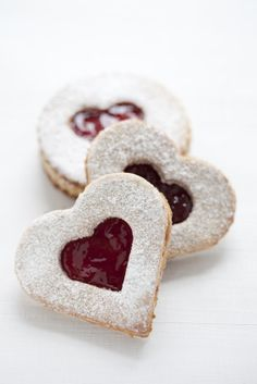 Linzertorte Cookies.  I am very picky about my linzer cookies. This is a great recipe.