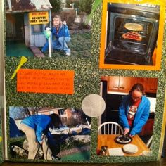 Old #scrapbook layouts and old CD mixes!