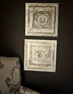 DIY Vintage Tin Tiles