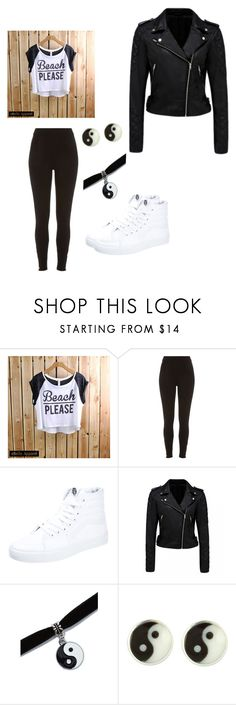 """School outfit #1"" by zryi ❤ liked on Polyvore featuring River Island, Vans, Forever New, women's clothing, women, female, woman, misses and juniors"