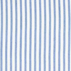 Hemdenstoff Stripes Serge 1 - Baumwolle - Polyester - hellblau