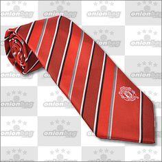 Manchester United Striped Tie