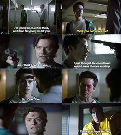 "Teen Wolf Season 04 Episode 07 ""Weaponized"" Stiles, Mr. McCall"