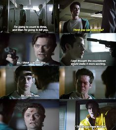 I was crying so much. My heart nearly stopped when I thought Stiles died.