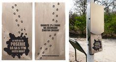 Ad for Sloboda Zvierat Reusable Tote Bags, Prints