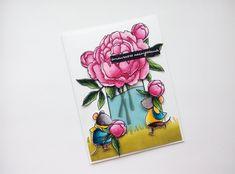 Раскрашивание штампов, урок 2, часть 2/ Coloring with watercolor markers...