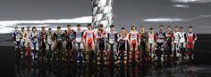 MotoGP riders 2012. Credit: DORNA