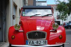 Citroën 2CV Vermelho