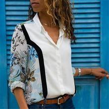 Women Blouses Fashion Long Sleeve Turn Down Collar Office Shirt Chiffon Blouse Shirt Casual Tops Plus Size Blusas Femininas Collars For Women, Blouses For Women, Cheap Blouses, Casual Tops, Casual Shirts, Chemise Fashion, The Office Shirts, Chiffon Shirt, Elegant Woman