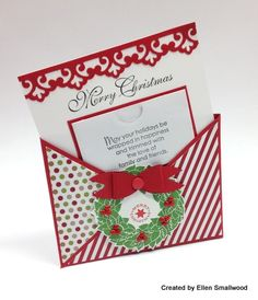 By Ellen Smallwood for Stampin Pretty