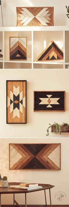 Eco-friendly Wood Wall Art | Home Decor | Add Rustic Beauty To Your Room | Handcrafted in Italy from reclaimed wood | Get yours at www.despalettos.com