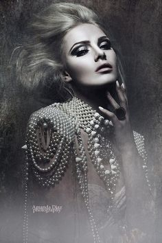 Adorned in Pearls Amanda Diaz