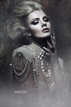 Adorned in Pearls Amanda Diaz