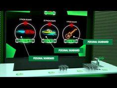 Supercool event installation by Heineken with RFID technology.
