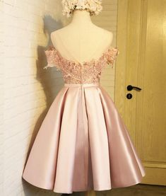 Any things please feel free to contact to us: WeddingPromDresse. 8th Grade Prom Dresses, Lace Homecoming Dresses, Backless Prom Dresses, Grad Dresses, Dresses For Teens, Elegant Dresses, Cute Dresses, Beautiful Dresses, Formal Dresses