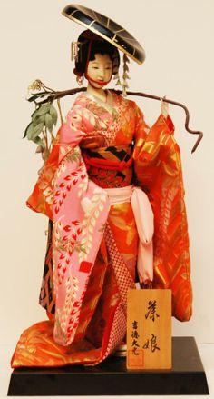 Ceramic doll.
