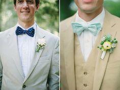 Look hipster para el novio en la boda en tonos claros