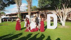 Andrea, muchas gracias por compartir con nosotros estas lindas fotos de tu boda. Nos encanta como quedó finalmente el color marsala, fue una buena decisión y tus damas se ven hermosas. ¡El equipo de Cocoa D'honor te desea mucho amor y bendiciones en tu matrimonio! #momentoCocoa Modelo3, #Marsala  #DamasdeHonor