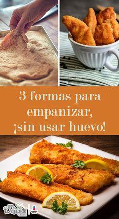 como empanizar sin huevo | CocinaDelirante