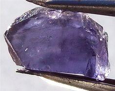 Iolite rough Amethyst, Gemstones, Texture, Rock, Crystals, Crafts, Surface Finish, Manualidades, Gems