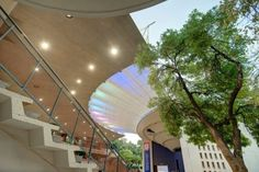 Aerial light structure by ARC Architects Pretoria.