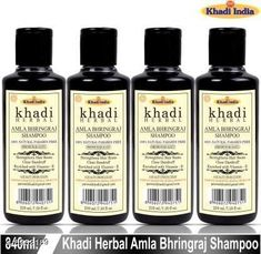 Checkout this latest Shampoo Product Name: *Khadi Hebral Amla bhringraj shampoo hair cleanser for strengthens hair 840ml Pack of 4* Product Name: Khadi Hebral Amla bhringraj shampoo hair cleanser for strengthens hair 840ml Pack of 4 Brand Name: Khadi Hair Type: All Hair Type Flavour: Amla Multipack: 4 Easy Returns Available In Case Of Any Issue   Catalog Rating: ★4.1 (1865)  Catalog Name: Khadi Herbal Advanced Hydrating Shampoo CatalogID_1536101 C166-SC1984 Code: 982-8932189-006