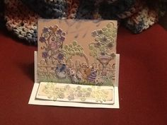 Wildwood Cottage easel card
