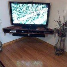Corner Wall Mount TV
