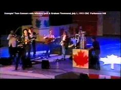 """Visit http://www.dailymusicbreak.com/2013/04/12/stompin-tom-connors/ to hear Stompin' Tom Connors play """"The Hockey Song"""" and """"Bud the Spud."""" TDMB is the site that presents great music regardless of era or genre."""