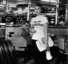 "Jean Seberg dans ""À bout de souffle"" (Jean-Luc Godard, 1960)"