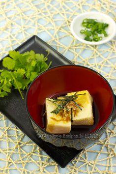 日式豆腐【附超簡易自製豆腐】 Japanese Tofu from 簡易食譜