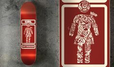 Nice Skateboard Decks by Pawel Kozlowski, an Illustrator from Poland.