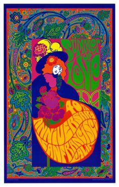 "1960s ""POP"" Summer of Love poster http://stores.ebay.com/jsamericana"