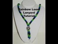 Rainbow Loom Lanyard Tutorial