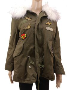 "Winterjacke ""PATCHES"""