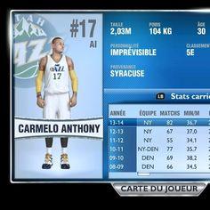 #NBA2K14 #XboxOne Et Carmelo Anthony au jazz dans my career rien que ça! Mdr