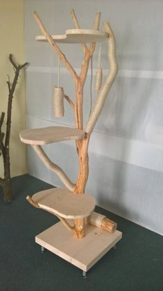 Diy Jouet Pour Chat, Diy Cat Tower, Cat Tree House, Cat Perch, Cat Stands, Cat Shelves, Cat Playground, Cat Room, Pet Furniture