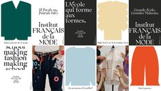 We design ingeniously simple brands and build unique personalities. Student Fashion, School Fashion, Le Mole, Contemporary Fonts, Window Signage, New Tone, France, The New School, Fashion Styles