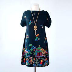 Fab.com | 40s Asian Border Dress